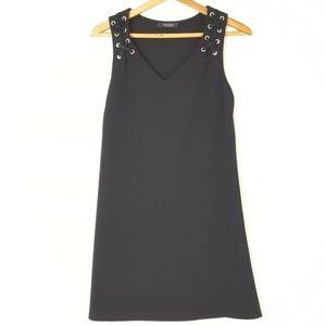 5/$25 Womens Black Dress Swim Cover Up Size Medium